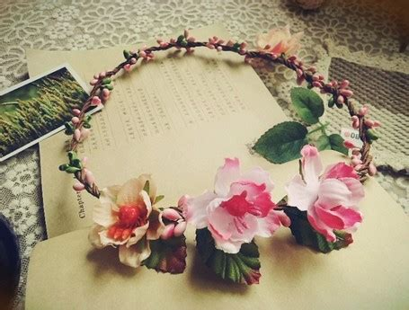 Flower Crown Handmade - aliexpress buy 6pcs lot handmade flower crown tiara