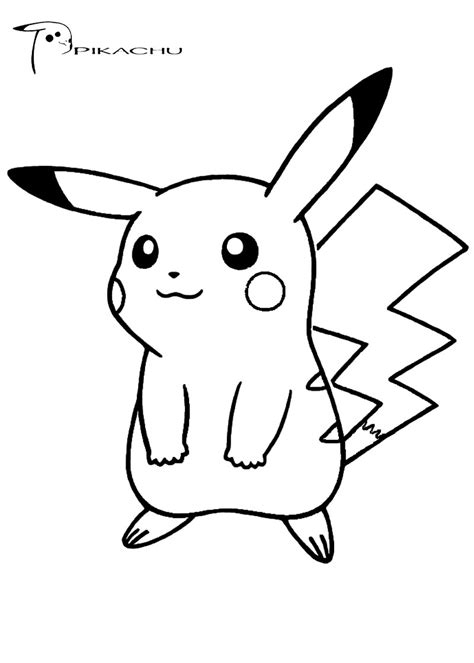 coloring pages of pokemon pikachu pokemon coloring pages free download