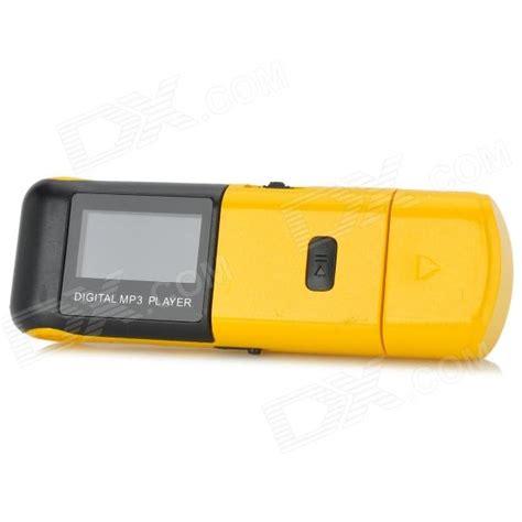 black yellow mp3 kd mp3 03 daiping huangse 1 quot screen digital mp3 player w