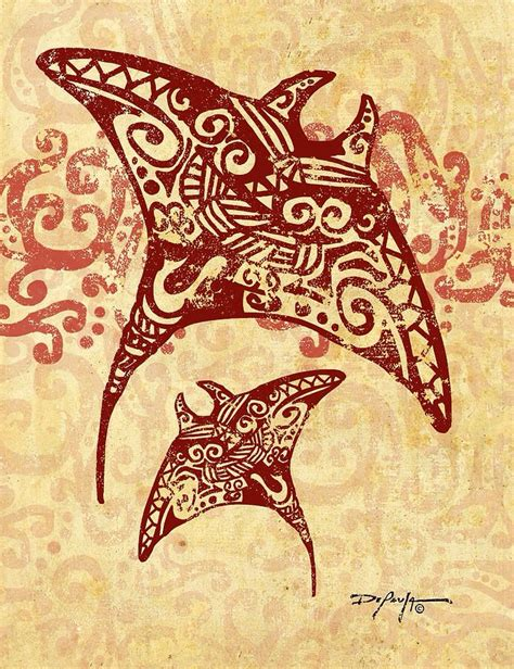 manta ray tattoo designs 18 best maori tribal manta turtles images on