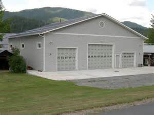large garages steel metal storage buildings shops garages