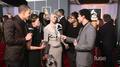 J. Cole, Lupe Fiasco Bring Their Moms to Grammy Red Carpet ... J Cole Parents