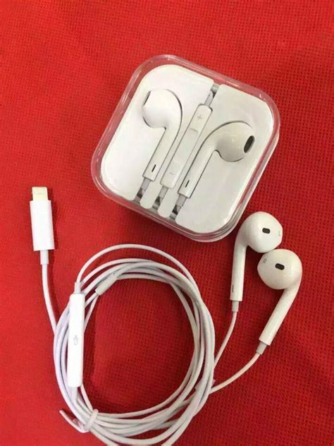 Headset Iphone 7 iphone 7 plus 6s i lightning 8pin digital earphone wired headset earbuds as 15619 apple