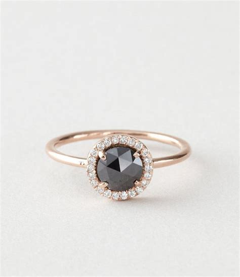 20 gorgeous black engagement rings deer pearl