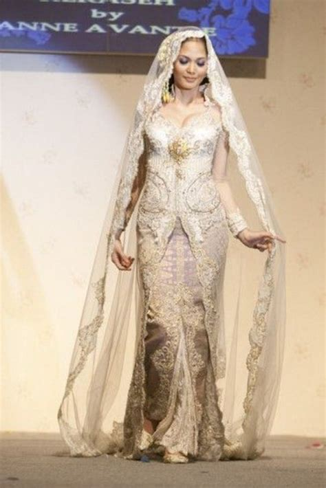 baju pengantin muslimah modern terbaru 17 projects to 17 best images about wedding kebaya on pinterest