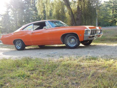 orange impala seller of classic cars 1967 chevrolet impala orange