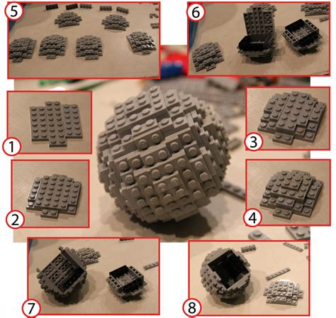 lego sphere building instructions how to build a lego