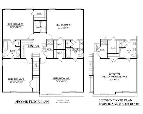 2nd floor house plans houseplans biz house plan 2691 a the mccormick a