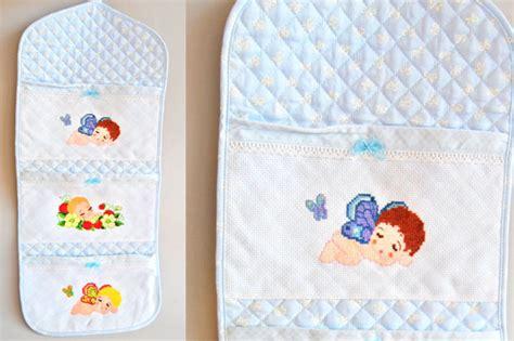 portaoggetti bagno fai da te portaoggetti di stoffa da appendere fai da te