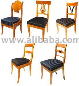 biedermeier furniture dining chairs photo detailed about