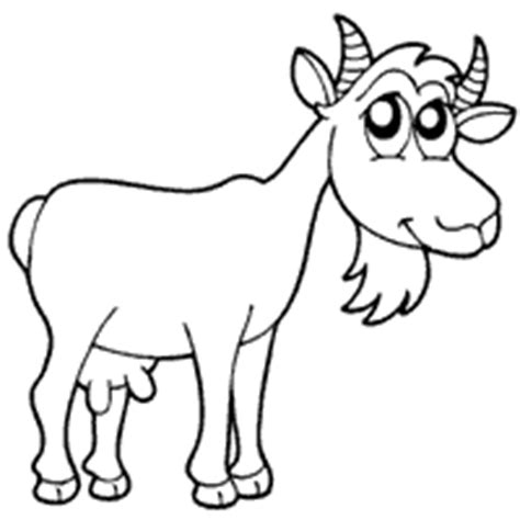 nanny goat coloring page nanny goat 187 coloring pages 187 surfnetkids