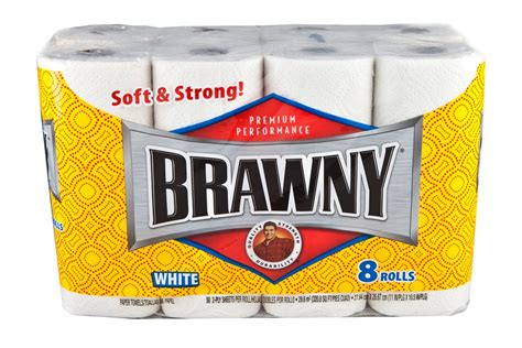 Who Makes Brawny Paper Towels - safeway brawny paper towels 50 a roll thrifty nw