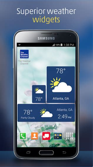 the weather channel app for android the weather channel technobezz