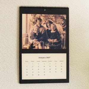 Handmade Calendars Ideas - photo calendar calendar and gifts to make on