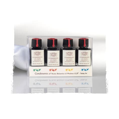 la vecchia dispensa la vecchia dispensa balsamico provsmakningsset 4x9ml