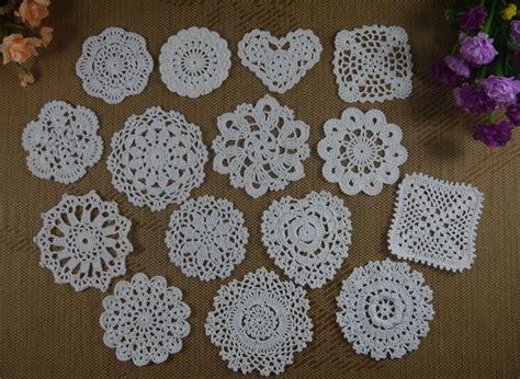 Handmade Table Decorations - aliexpress buy handmade crochet doilies table