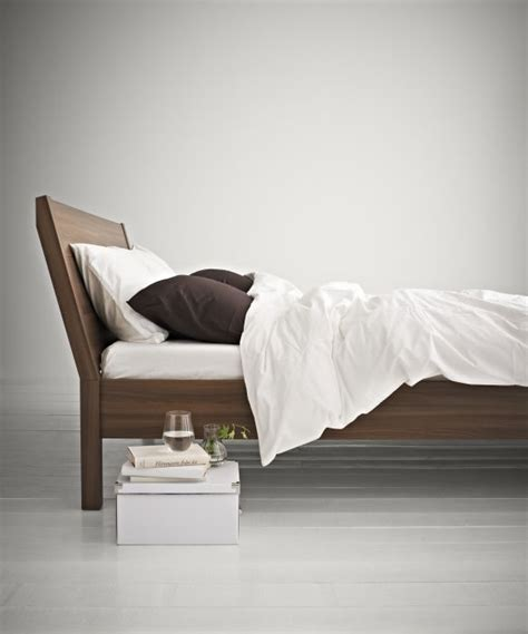 bed reading l nyvoll the angled headboard allows you to sit
