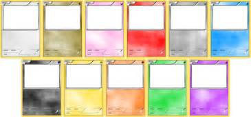 pokemon blank card templates by levelinfinitum on deviantart