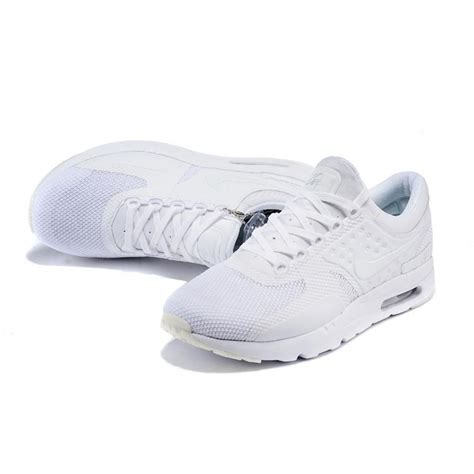 nike air max zero qs womens running shoes white cheap