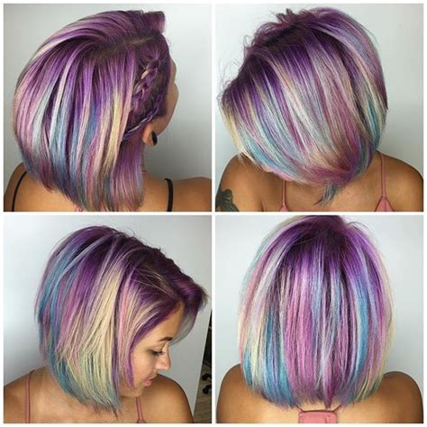 unicorn hair color 1286 best images about hair on gold ombre