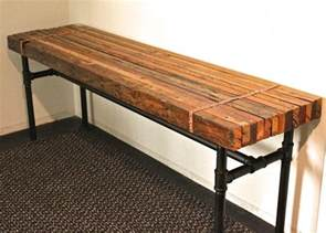 iron pipe bench pinterest the world s catalog of ideas
