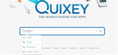 Search Engines To Locate Quixey A Search Engine To Find Apps