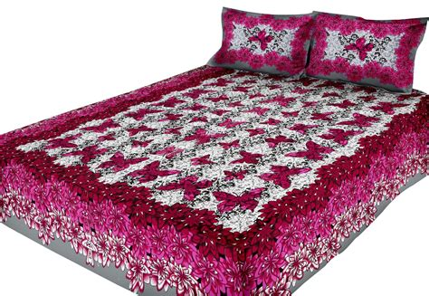 indian bed sheets new indian cotton king size double bed sheet set with 2