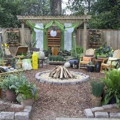 No Grass Backyard Ideas 25 Best Ideas About No Grass Backyard On Pinterest No Grass Landscaping Cheap Privacy Fence