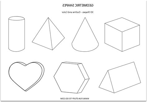 Drawing 3d Shapes by Drawing 3d Shapes Worksheet Worksheets For School Roostanama