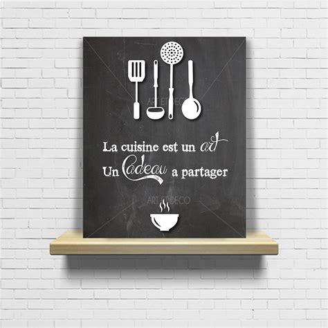 phrase cuisine tableau en ardoise pour cuisine inspirations et tableau