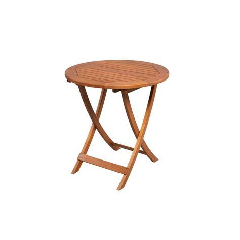 Bistro Table Patio Hton Bay Adelaide 27 In Eucalyptus Folding Patio Bistro Table Ktot 1739 Hdp The Home