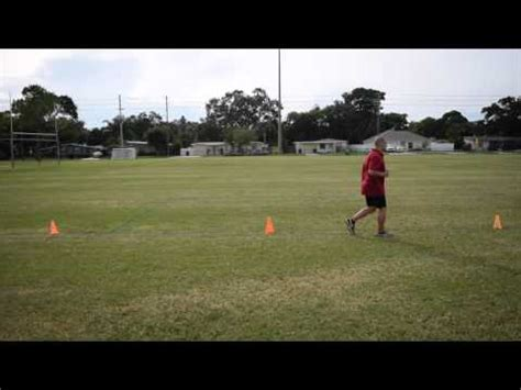 setting drills youtube how to set up the 5 10 5 shuttle drill youtube