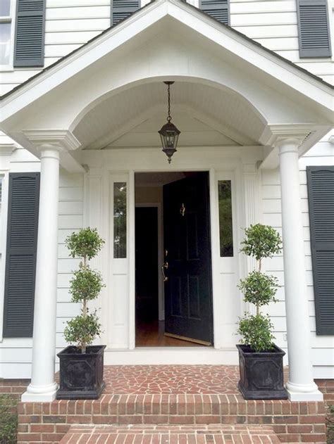 colonial front door designs 25 best ideas about colonial exterior on pinterest