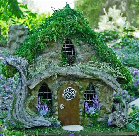 fairy homes celtic fairy house 187 wheeler library