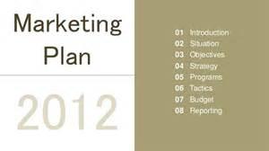 Marketing Presentation Template by Marketing Plan Presentation Template