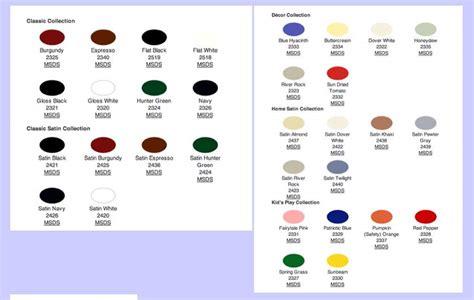 attachment browser krylon paint colour chart jpg by aleagle rc groups