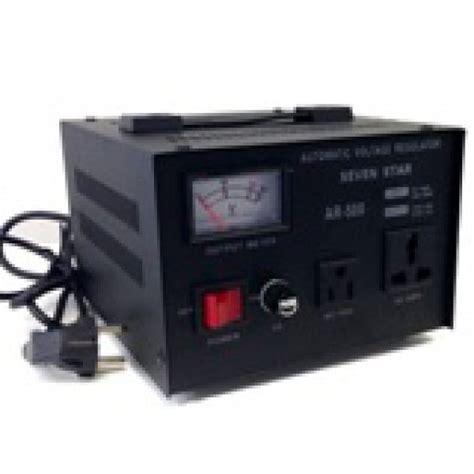 Stabilizer Matsunaga 500 Watt 500w Stavol 500 watts step up and voltage converter regulator transformer ar500 110 220 volts