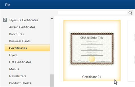 Smartdraw Certificate Templates by Certificate Template Software Try It Free And Create