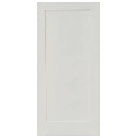 home depot solid core interior door stile doors 18 in x 80 in shaker primed 1 panel solid core mdf interior door slab slb sd 111