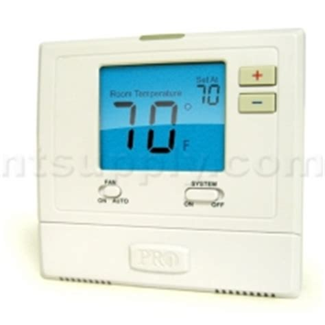 thermostat swing buy pro1iaq model t701 1 heat 1 cool non programmable