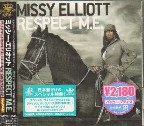Cd Elliott Respect Me misdemeanor elliott respect m e japanese promo cd