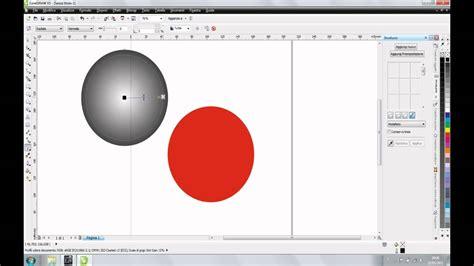 creare pattern corel draw tutorial corel draw sfera 3d youtube