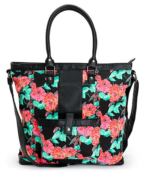 Free Tribal Floral Bag by Empyre Floral Tribal Tote Bag
