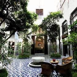 style homes with interior courtyards the view from fez luxurious palace in the fez medina