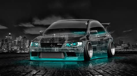 mitsubishi lancer jdm mitsubishi lancer evolution jdm tuning crystal city car