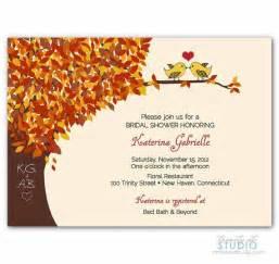 fall wedding shower invitation wording fall bridal shower invitation wedding invite by trinityststudio 16 00 weddings