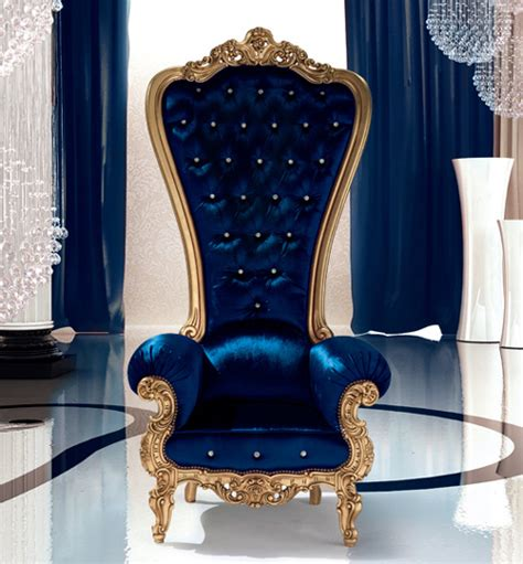 Royal Armchair by Caspini Drops Royal Throne Armchairs For Us Commoners