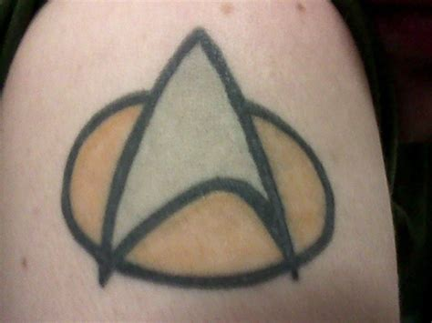 star trek tattoo 11 stellar trek tattoos