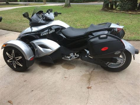 Suzuki Tomball Can Am Spyder Rs S Sm5 For Sale Used Motorcycles On