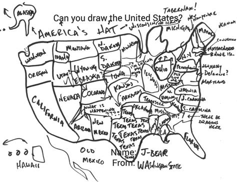 Drawing 50 States by Can You Draw All 50 Us States